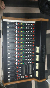 Vintage Carvin MX 1222p 16 channel mixer