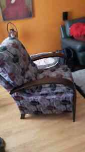 Reclining Accent Chair Kitchener / Waterloo Kitchener Area image 2