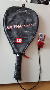 Two Racquetball Rackets with Covers
