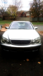 2002 Mercedes Benz S500 (130,000km)