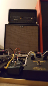 Mesa Boogie fifty/fifty.