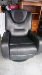 Reclining masage chair