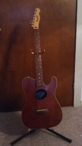 Fender squire teleacoustic