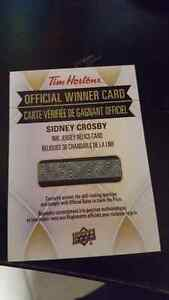 Sidney Crosby Nhl jersey relics card