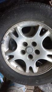 215/65 R16 Nokian Winter Tires on Rims Prince George British Columbia image 1