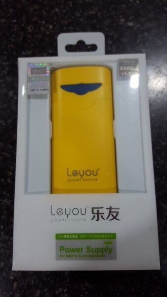 LeYou LY590 6600mAh Portable Power Bank For iPhone Cellphone iPad