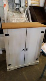 Shoe storage cabinet only £65. Assembled ex display. RBW Clearance Out