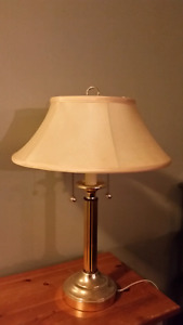 Gold and white lamp OBO!