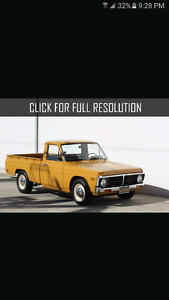 Wanted Ford Courier or old project truck