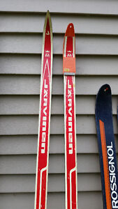 Skis & Polls Cross Country/ Down Hill Vintage Sarnia Sarnia Area image 5
