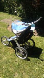 Chariot cavalier jogging stroller