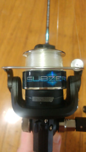 Ice Fishing Rod - Subzero Blue and Black