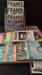 Large collection (20x) FRAME magazines_Design - Architecture-Art