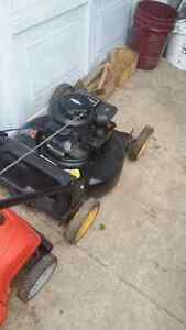 Briggs and stratton 459 series Yard pro lawnmower for sale.
