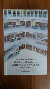 Legal Research, Writing and Analysis - Moira McCarney, 2016