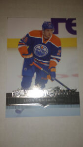 carte de hockey upper deck 2014-2015 leon draisaitl youg guns