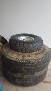 Utility and trailer tires.