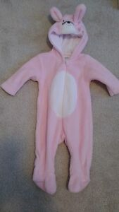 Pink Bunny Costume (3mths)