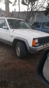 White Jeep Cherokee For Sale.