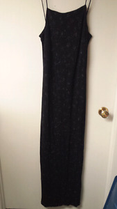 BLACK SEQUENCE DRESS SIZE 7