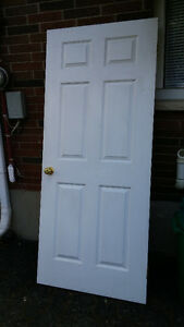 six panels interior hollow core door in great condition