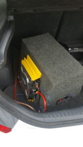 1100 watt car sub DOES NOT COME WITH AMP