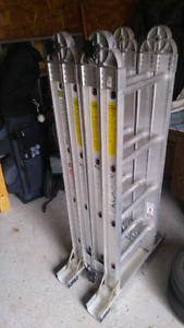 Featherlite combination ladder
