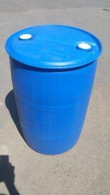 205 Litre (45 Gallon) Plastic Barrels