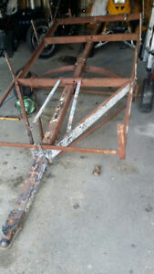 4 by 8 utility trailer project