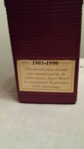 85TH ANNIVERSARY SASK LIQUOR BOARD COLLECTIBLE Regina Regina Area image 2
