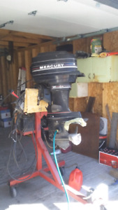 Mid 80's Mercury outboard