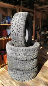 275/55R20 Cooper ATP M+S Tires