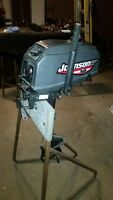 2HP JOHNSON outboard --- Better then any paddle