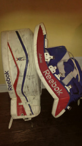 Intermediate Goalie Pads for sale