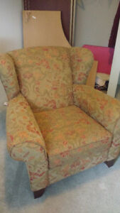 wing chair and/or love seat - $300