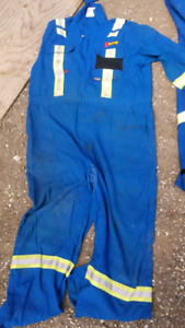 Nomex Fire Retardant Coveralls.   Size 50Tall
