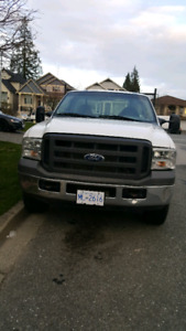 Ford 250 flat deck truck for sale