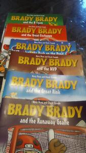 6 Brady Brady books