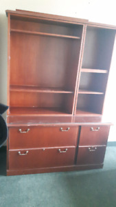 Office Liquidation Shelving Units (75$ each - negotiable)