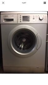 Bosch washing machine silver