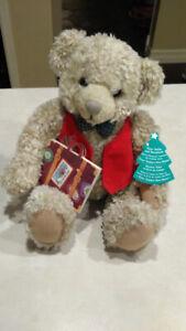 Hallmark Tyler Teddy Bear with story book and original tag.