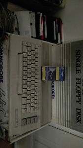Commodore 64C Disk Drive & Floppys