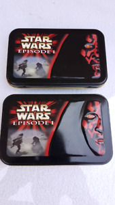 Star Wars Episode 1 Collectors Tin With Cards