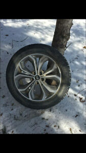 235/55r19 tires and rims