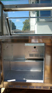 Refrigerated Prep Table (stainless steel)