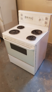 ELECTRIC STOVE, WHITE