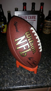 Wilson Official NFL Game Football 1999 Paul Tagliabue stamp