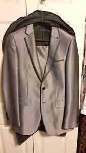 Teen Boy 2pc Silver Suit