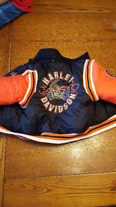 Never Worn Reversible Kids Harley Davidson Winter Coat London Ontario image 3