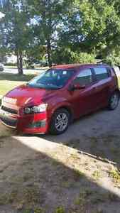 2012 chevy sonic low km